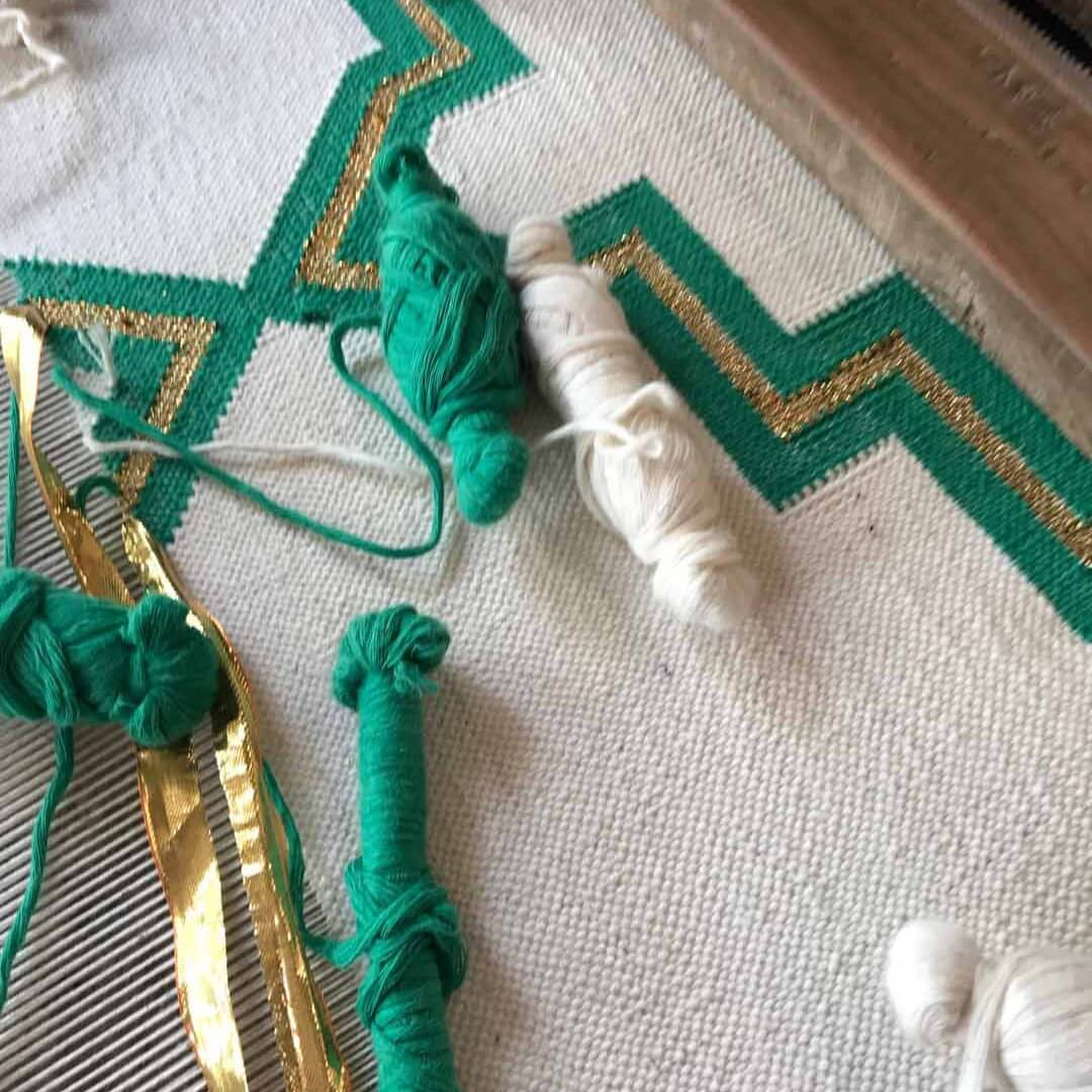 Bespoke handcrafted rugs - the process