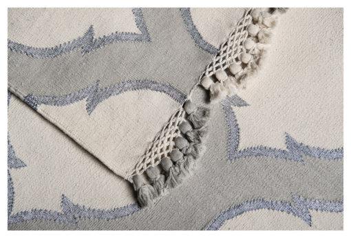HAWA MAHAL - COIN GREY & SILVER BLING Closeup