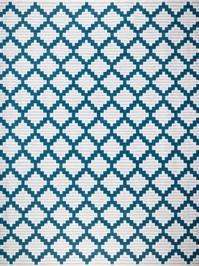 SICILIAN TILES - LAGOON BLUE & COIN GREY
